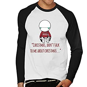 Christmas-Marvin-The-Paranoid-Android-Hitchhikers-Giude-To-The-Galaxy-Mens-Baseball-Long-Sleeved-T-Shirt