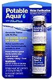 PA Plusを使用した飲料アクア浄水錠