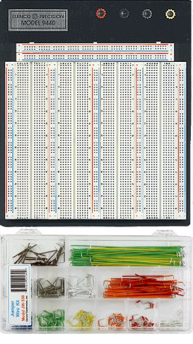Elenco 9440 Breadboard With JW-350 Jumper Wire Set