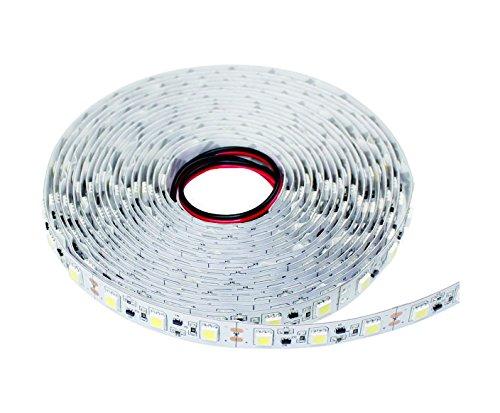 Ledmy- Ip20-3528 White-5 Meters 300Leds High Lumen Strip Lights, Top Quality Commercial High Lumen Led Flexible Strip Lights (White)