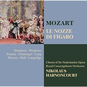 """Le nozze di Figaro : Act 4 """"Gente, gente, dall'armi"""" [Cherubino, La Contessa, Il Conte, Susanna, Figaro, Basilio, Antonio, Barbarina, Marcellina, Chorus]"""