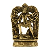 Figurine Ma Kali Durga Hindu Sculpture And Statue Indian 10.16 X 3.81 X 16.51 Cmby ShalinCraft