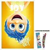 Inside Out (2015) - Character Joy - 13x19 Borderless Movie Poster + Laminated Bookmark