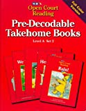 Pre-Decodable Takehome Books (SRA Open Court Reading, Level A, Set 2)