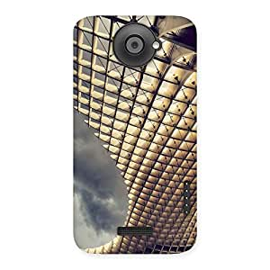 Enticing Universal Art Back Case Cover for HTC One X