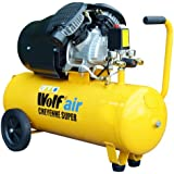 Wolf Cheyenne V-Twin 50 Litre, 3HP, 14CFM, 230v, MWP 150psi, 10BAR Air Compressor