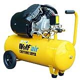 Wolf Cheyenne V-Twin 50 Litre, 3HP, 14CFM, 230v, MWP 150psi, 10BAR Air Compressor