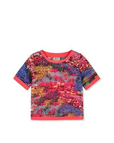 Yumi T-Shirt rosa/mehrfarbig