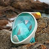 THENICE-Surface-Snorkel-Scuba-Set-Sports-Snorkeling-Mask-Green