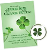 Angelstar 8781 Four Leaf Clover Worry Stone, 1-1/4-Inch