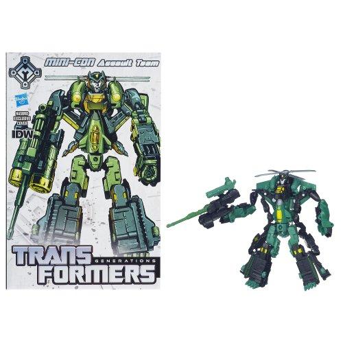 Transformers Generations 30th Anniversary Deluxe Class Mini-Con Assault Team Figure
