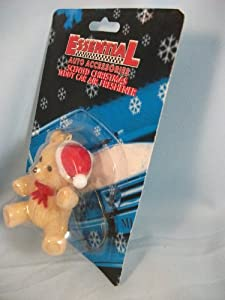 Scented Car Air Freshener Christmas Teddy Bear 093/060