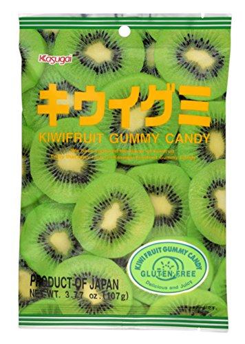 Kasugai Kiwi Gummy Candy 3.77oz