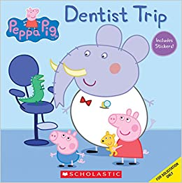 Dentist Trip (Peppa Pig): Scholastic: 9780545891462: Amazon.com: Books