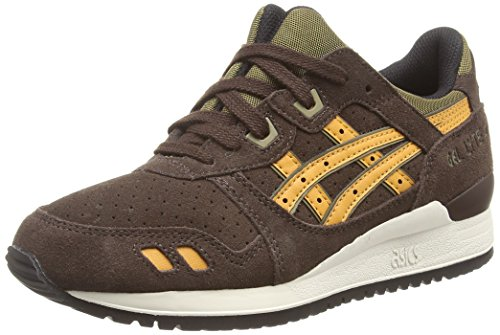Asics Gel-Lyte III, Scarpe sportive, Unisex-adulto, Marrone (Dark Brown/Tan 6286), 41.5