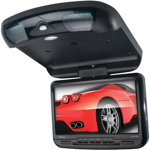 BOSS AUDIO BV90BA 9 inch Widescreen Flipdown & Swivel Monitor with DVD player, Wireless Remote