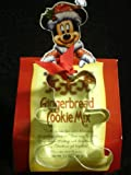 DISNEY PARKS EXCLUSIVE Gingerbread Mickey Metal Cookie Cutter & Gingerbread Cookie Mix