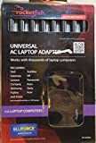 Rocketfish- Universal AC Laptop Power Adapter 8 Tips MOST COMPUTERS RF-AC9023