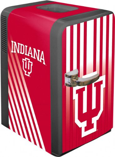 NCAA Indiana Hoosiers Portable Party Fridge, 15-Quart