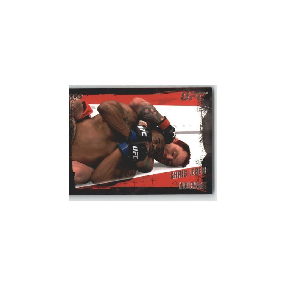 2010 Topps UFC Trading Card # 35 Chris Leben (Ultimate Fighting