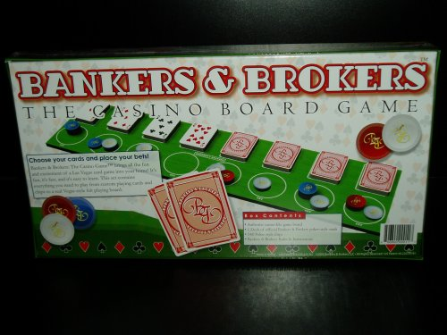 Bankers & Brokers The Casino Board Game - 1