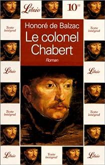 Le Colonel Chabert par Honore de Balzac