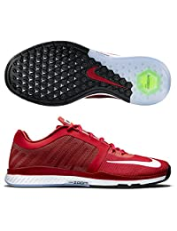Nike Mens Zoom Speed TR 2015 Gym Red/Bright Crimson/White 11 D - Medium