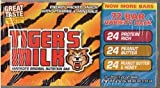 72 Tiger's Milk 1.23 Oz Bars. Includes 24 Protein Rich, 24 Peanut Butter, 24 Peanut Butter and Honey Bars.