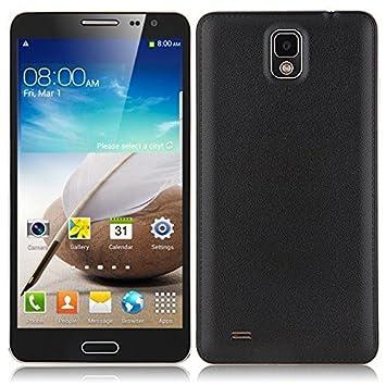 Foxnovo Star N9000 4,2 MTK6582 Quad-Core 1 Go/8 Go HD 5.7 pouces IPS écran double caméra GPS 3G Smartphone Android (noir)
