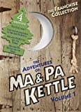 Cover art for  The Adventures of Ma & Pa Kettle, Vol. 1 (The Egg and I / Ma and Pa Kettle / Ma and Pa Kettle Go to Town / Ma and Pa Kettle Back on the Farm)