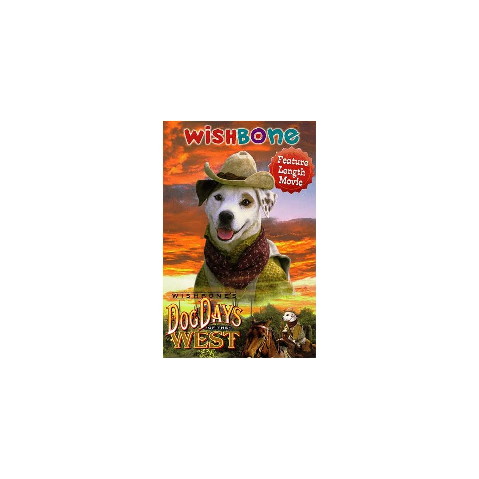 Wishbones Dog Days of the West [VHS] Larry Brantley
