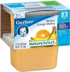 Amazon Com Gerber 2nd Foods Baby Foods Sitter Banana