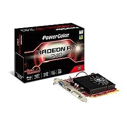 PowerColor Video Graphics Cards AXR7 240 4GBK-HE/OC
