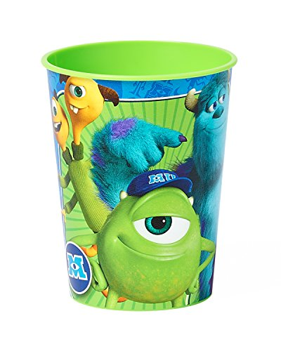 Monsters University 16 oz Plastic Party Cup, Party Supplies - 1