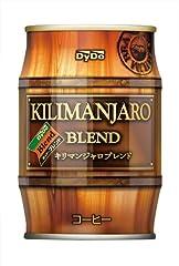 ダイドードリンコ ダイドーブレンド キリマンジャロブレンド樽 250g×24本