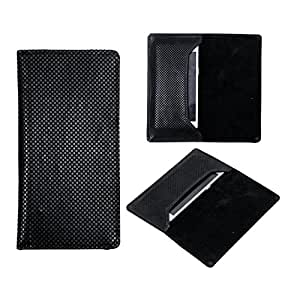 SkyAnk Pu Leather Flip Pouch Case Cover For Sony Xperia E1 Dual