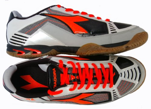 scarpe da calcetto DIADORA SHARKI II ID metal / red -40