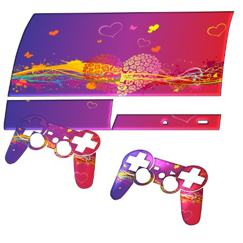 """""""Amore"""" 10016, Sticker For Playstation 3 Fat Game Console."""