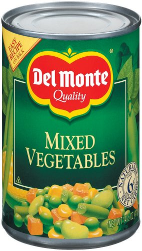 Del Monte Mixed Vegetables 14.5 oz (Mixed Vegetables compare prices)