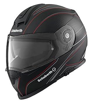 Schuberth S2 Sport Dark Wave Red Motorcycle Helmet