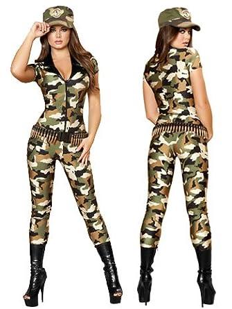 Camo Cutie Army Soldier Costume - MEDIUM/LARGE