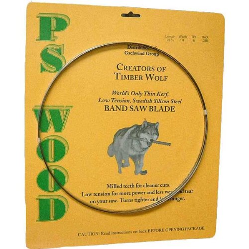 Check out Timber Wolf Bandsaw Blade 105' x 3/8' x 3 TPI Alternate Set