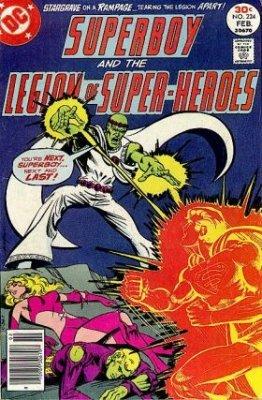 Superboy & the Legion of Super-heroes #224 Stargrave Appearance [+Peso($43.00 c/100gr)] (US.ME.8.95-3.99-B005BE2N0K.1206)