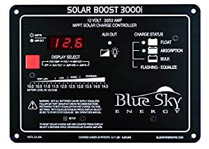12V/30A 400W MPPT Solar Boost 3000i Solar Charge Controller SB3000i from Blue Sky Energy