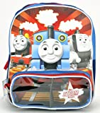 Birthday Christmas Gift - Thomas the Train Toddler Backpack and Tumbler Set, Backpack Size Approximately 12""