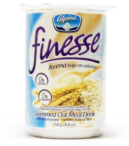 Alpina Finesse Oatmeal Drink (12 Pack) (Low Calorie)