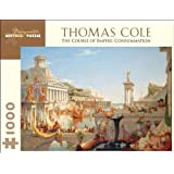 Thomas Cole 1000 Piece Puzzle The Course of Empire: Consummation