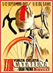 c1943 Vintage CYCLING Artwork for CAT...