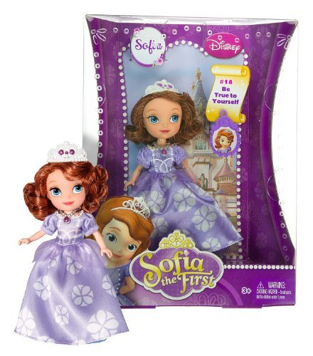 "Sofia the First ~5"" Doll - Disney Sofia the First Series: #18 Be True to Yourself - 1"