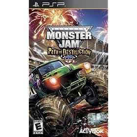Monster Jam 3: Path of Destruction: Sony PSP